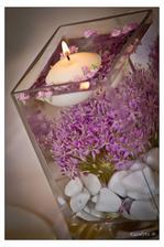 svíčky na stůl vypadaly fakt skvěle