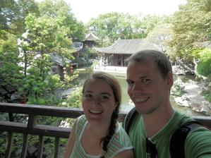 Svatební cesta - zahrada v Suzhou