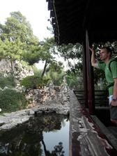 Svatební cesta - nádherná zahrada uprostřed Nankingu