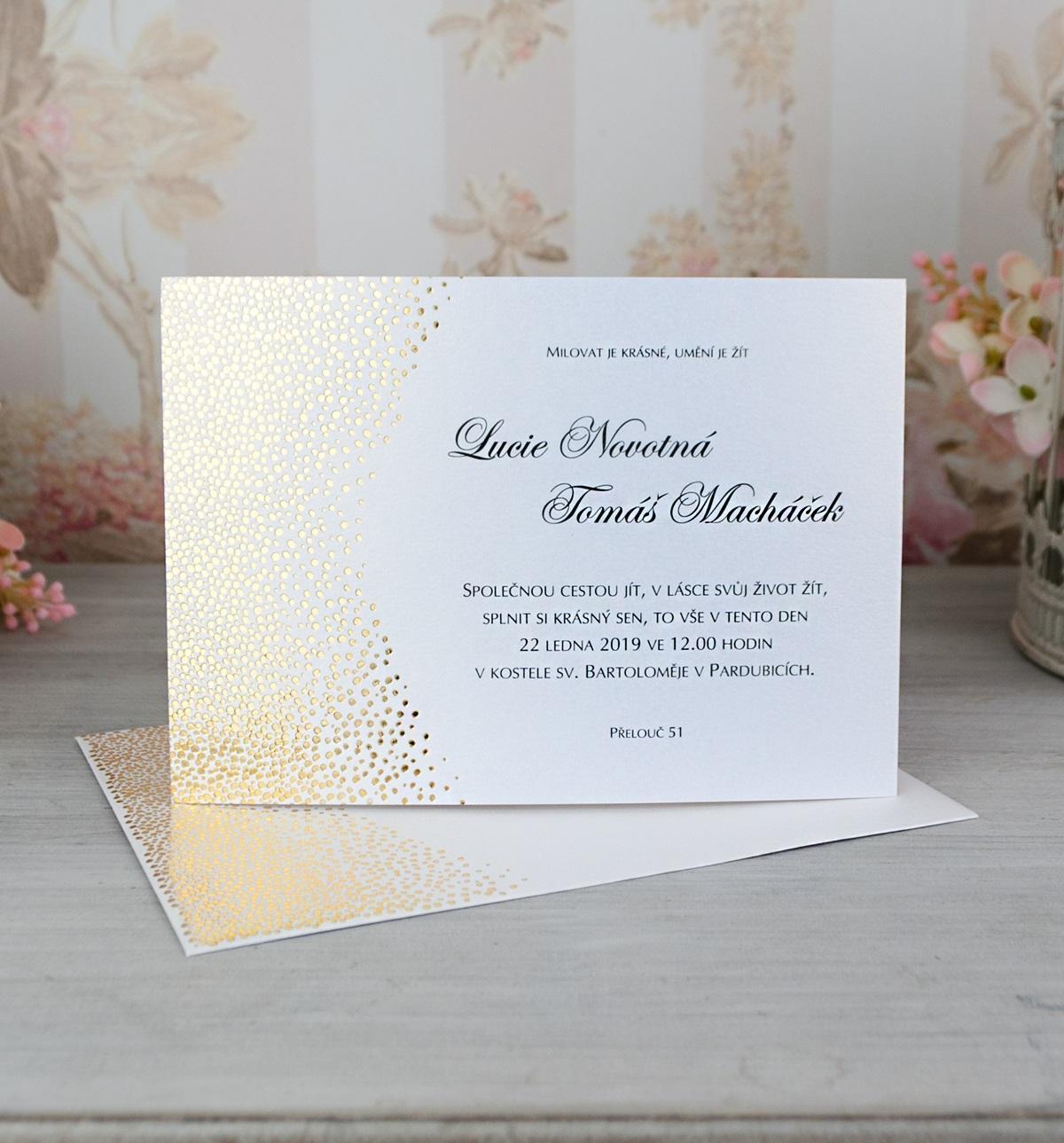 Svatební oznámení pro rok 2017 - Obrázek č. 1