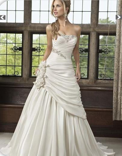 Nové šaty na prodej - vel.40/42-barva Ivory   -3300kč