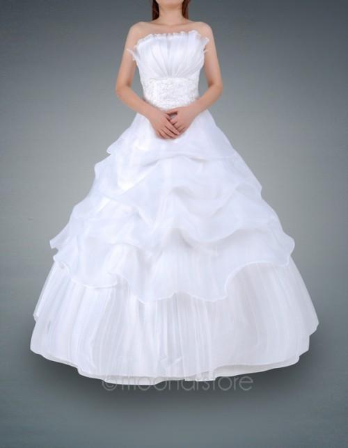 Nové šaty na prodej - vel.36/38-šampaň  -1800kč