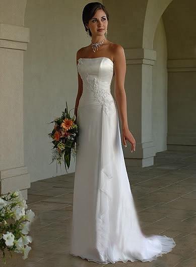 Letní výprodej svatebních šatů - velikost 38/40-cena 2300kč