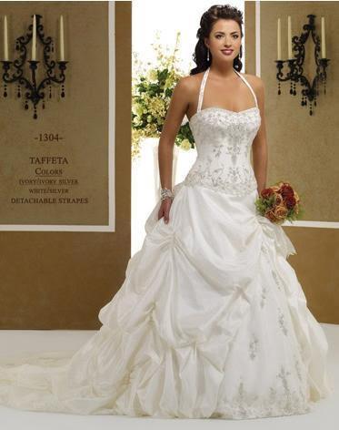 Letní výprodej svatebních šatů - velikost 38,cena 3600kč