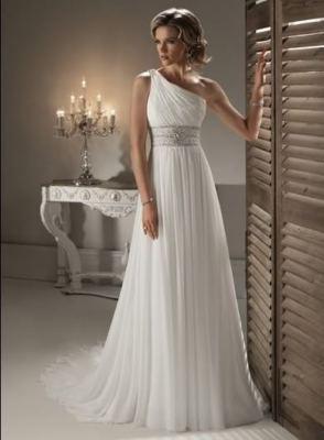 Letní výprodej svatebních šatů - velikosti 36/38 a 38/40 - cena 2600kč