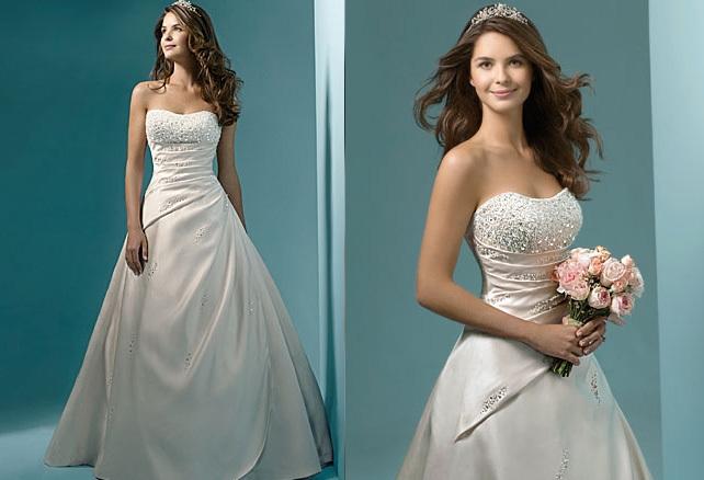 Letní výprodej svatebních šatů - velikost 36-cena 3200kč