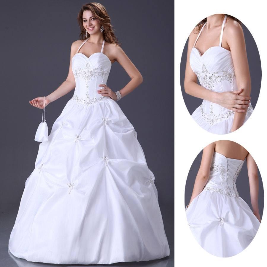 Letní výprodej svatebních šatů - velikost 36-cena 2800kč