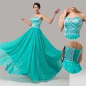 plesové šaty, 36