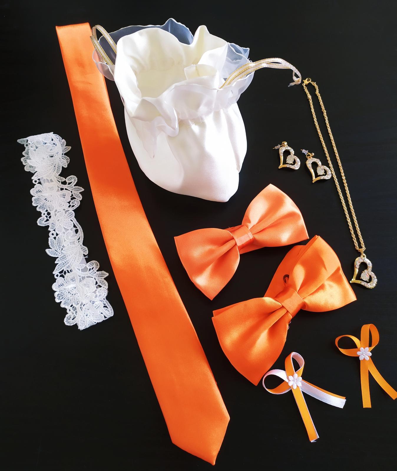 oranžová sada - Obrázek č. 1