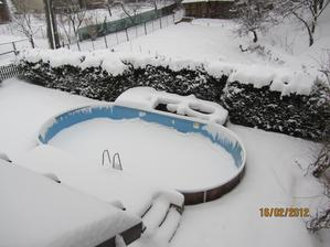 """po tejto zime sme zrušili bazén a začali """"mičuriniť"""" :-)"""