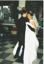 náš prvý tanec celkom sa nam vydaril :-)