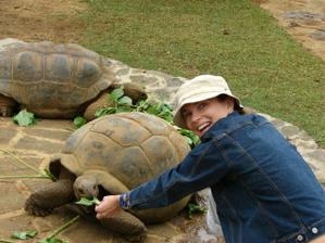 obrovský želvy byly taky supr!