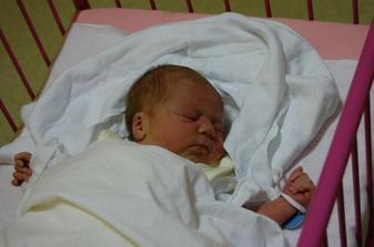 26.10.2008 se nám narodila krásná dcerka Valerie