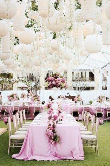 Wedding planning :-) - nadhera...biela s pudrovo ruzovou...