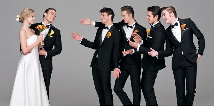 Wedding planning :-) - zenich urcite v ciernom obleku!