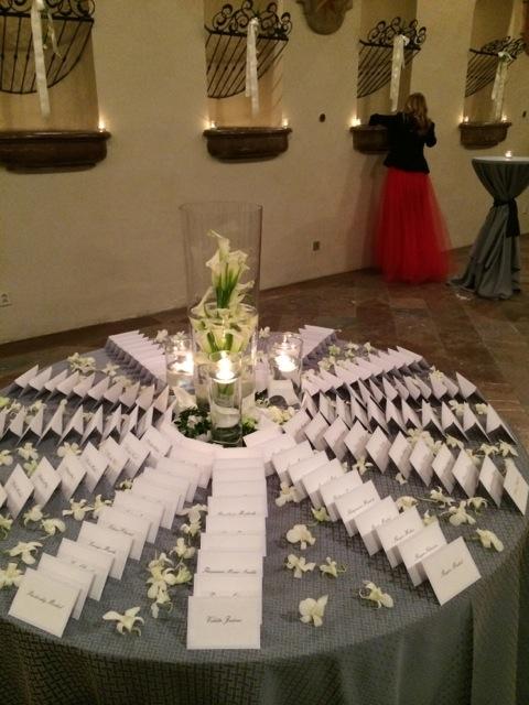 Wedding planning :-) - a takto do hviezdice poukladane...ziadne usadzacie oznamy, kde sa ludia musia hladat ani na stoloch menovky...jasne zrozumitelne pre kazdeho