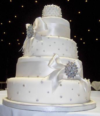 Wedding planning :-) - jednoducha....cisto biela...s perlickami..len ci jedle :-)