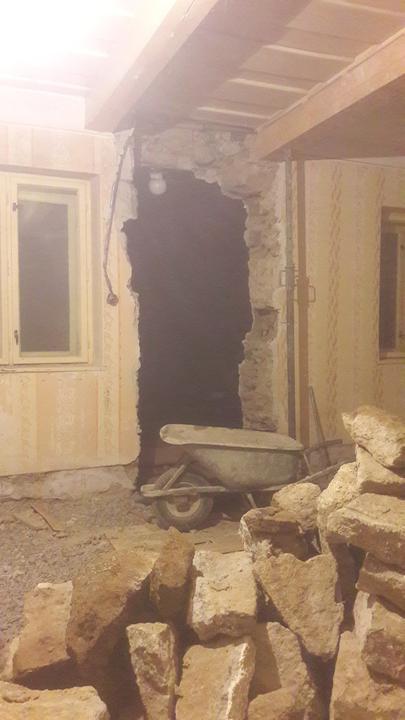 Nove vstupne dvere do apartmanu