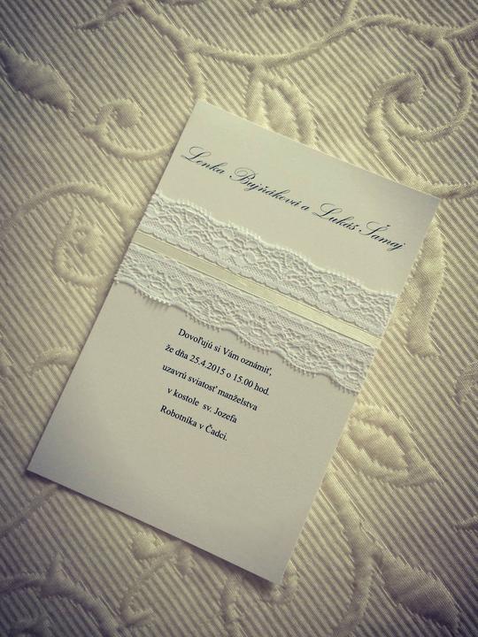 Zháňam svadobné oznámenie - Obrázok č. 1
