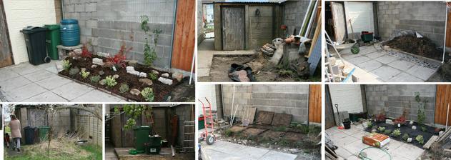 2014 unor - zari Tak sel cas na dvorku za garazi