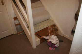 A cooopak je pod kobercem? Zase schody :)