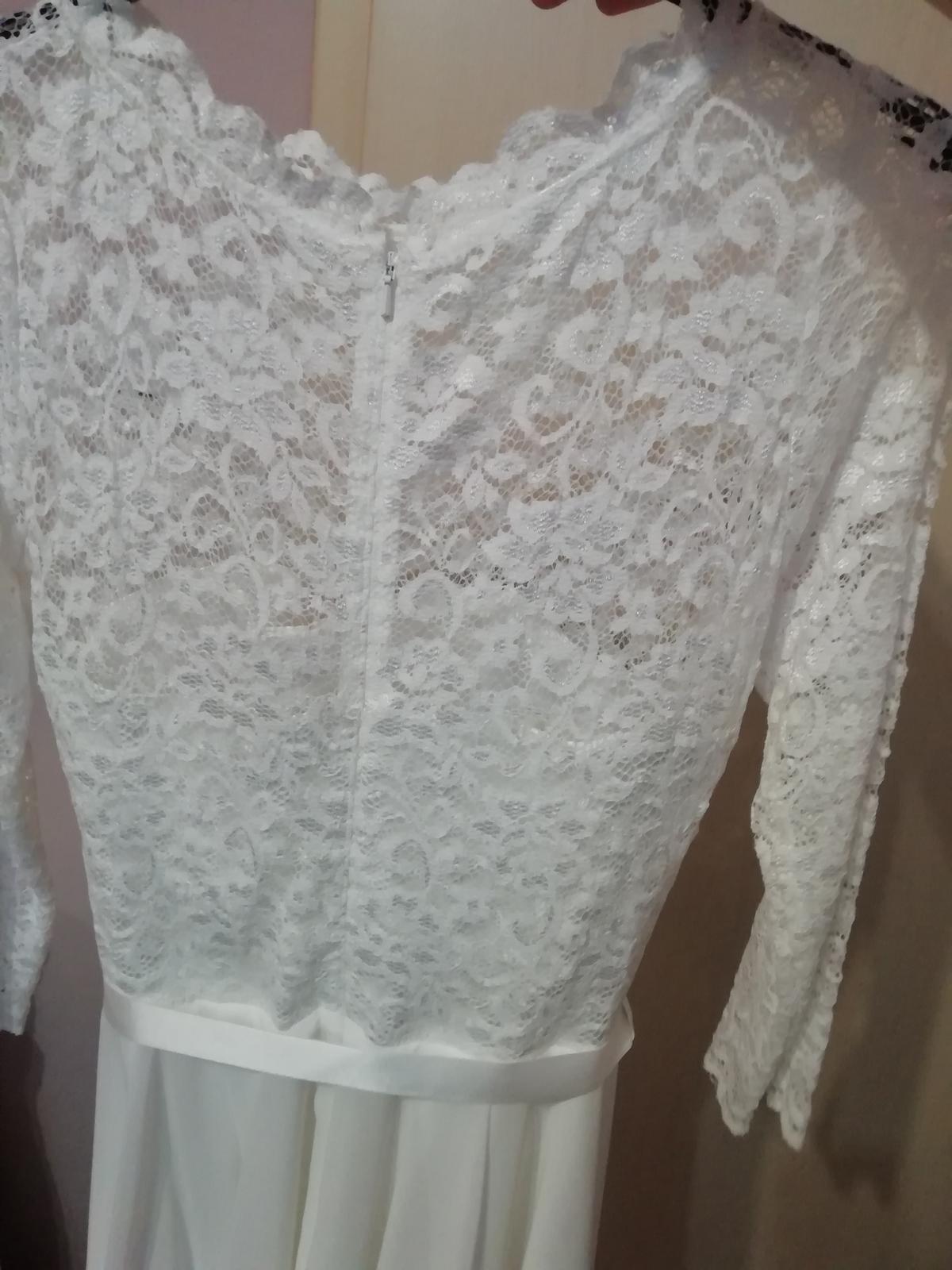 kratke svadobne šaty SWING - Obrázok č. 3
