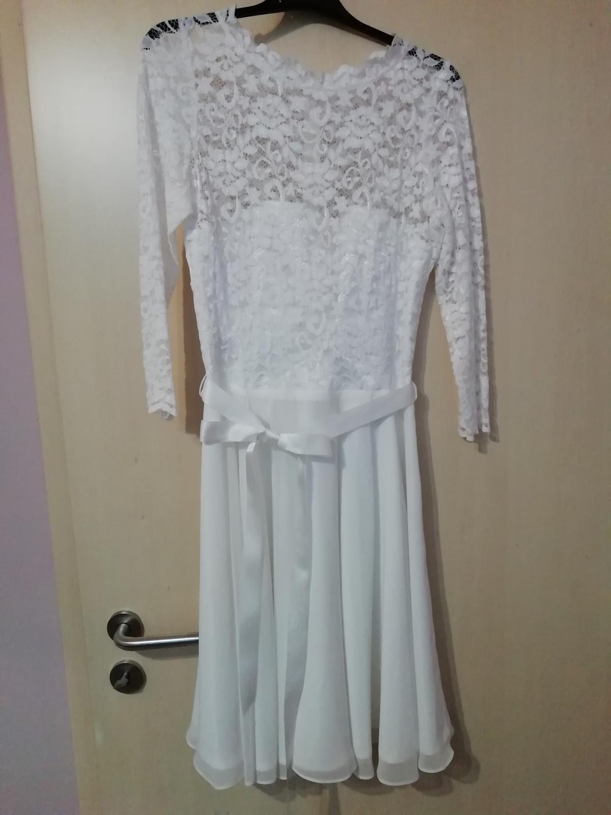 kratke svadobne šaty SWING - Obrázok č. 2