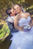 Netradičné svadobné šaty dovezené z Nemecka, 40
