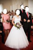 Bílé svatební šaty Madora , 38