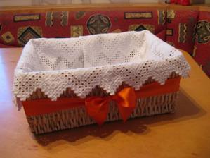 košík na přání - dary,konečně hotov