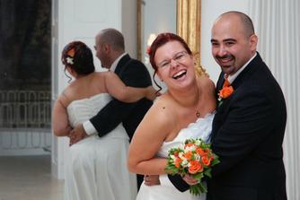 Svatba byla opravdu veselá