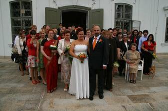 Se svatebními hosty