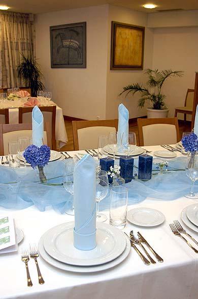 Isabella - Super vyzdoba...bielo modrá...