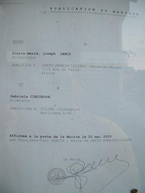 Augustovi pejko a gaga - uz je to oficialne, na radnici v gretz (francuzsko)