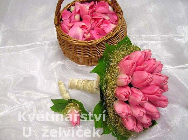 Svadobna kytica z tulipánov - Obrázok č. 15