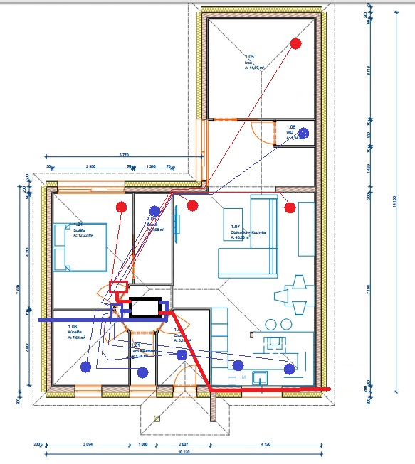 Náš Dom ( NED Drevostavba) - Moje dnešné návrhy na RJ...zatiaľ ešte nie som rozhodnutý :)