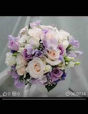 Moje svatební kytice <3