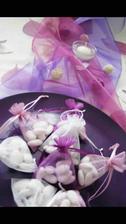 Dárečky pro svatebčany :) Mandličky