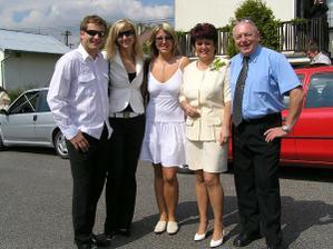 manželova rodina a přátelé :-)