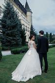 luxusní svatební šaty La Sposa - 36-40 - 40 , 38
