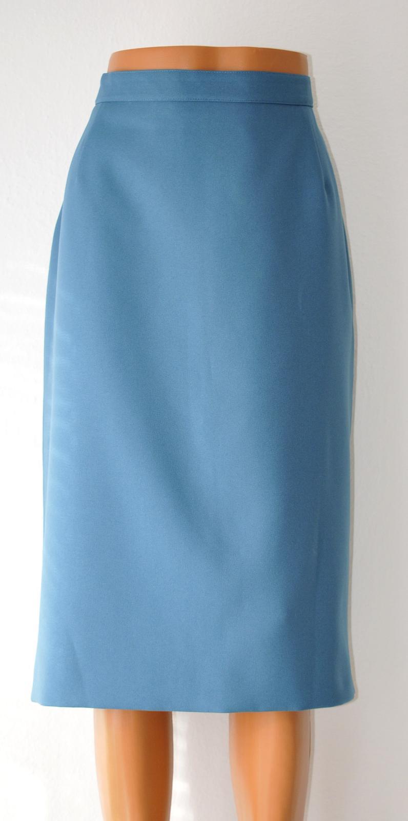Dámsky kostým - sáčko + sukňa /podšité/ - Obrázok č. 2