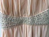 Dlouhé společenské šaty růžové, 38