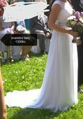 Svatební šaty -jednou použité vel.(38,40), 39