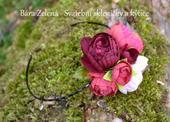 květinová čelenka ,