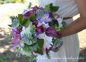 Svatební Boho kytice,
