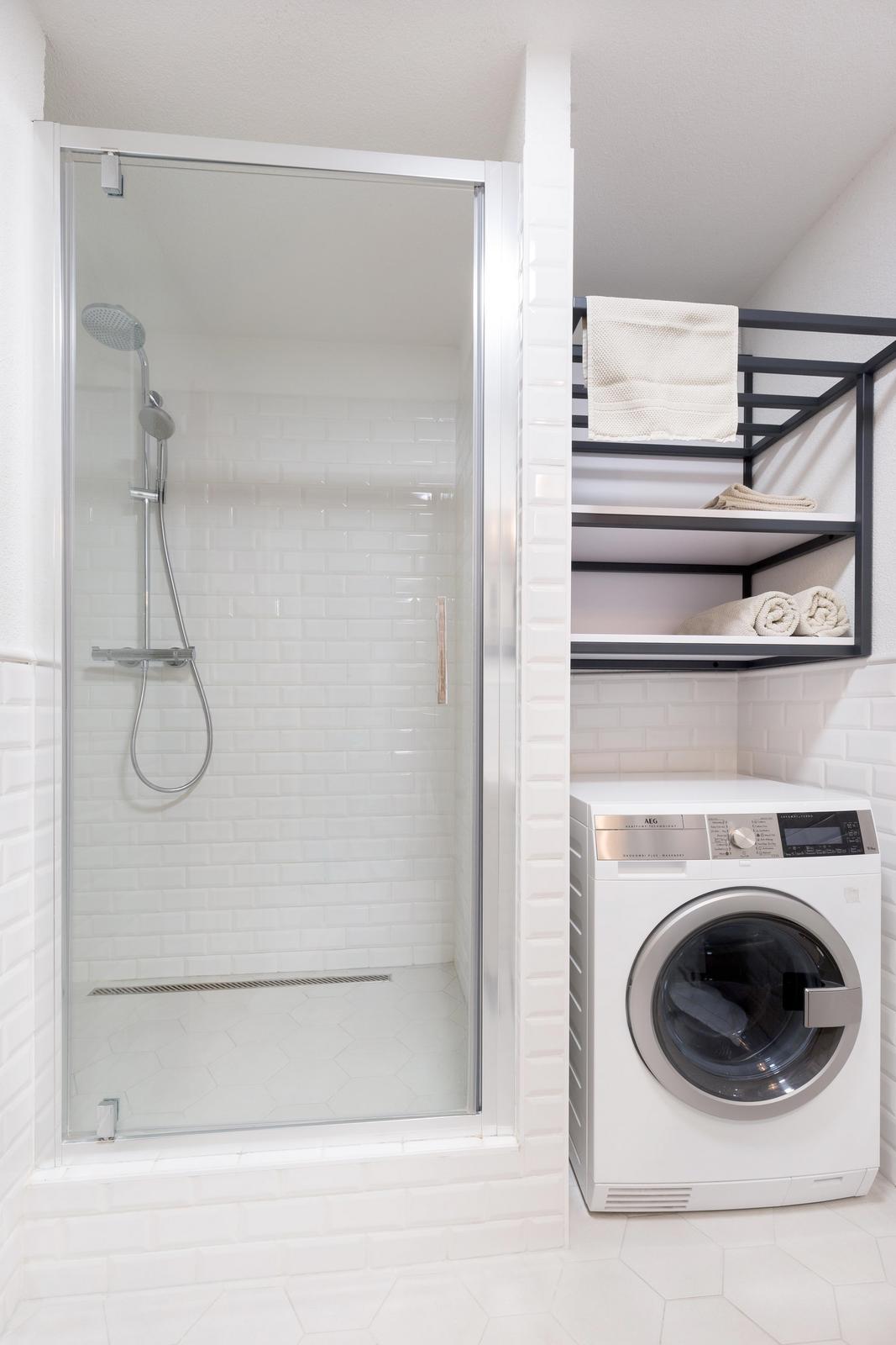 Náš zrealizovaný interiér bytu v Banskej Bystrici sme prihlásili do súťaže INTERIÉR ROKU 2017 - sprchový kút v kúpeľni