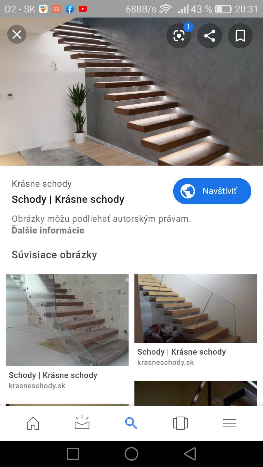 Konzolove schodisko (samonosne schody) - tak by to malo vypadat :)