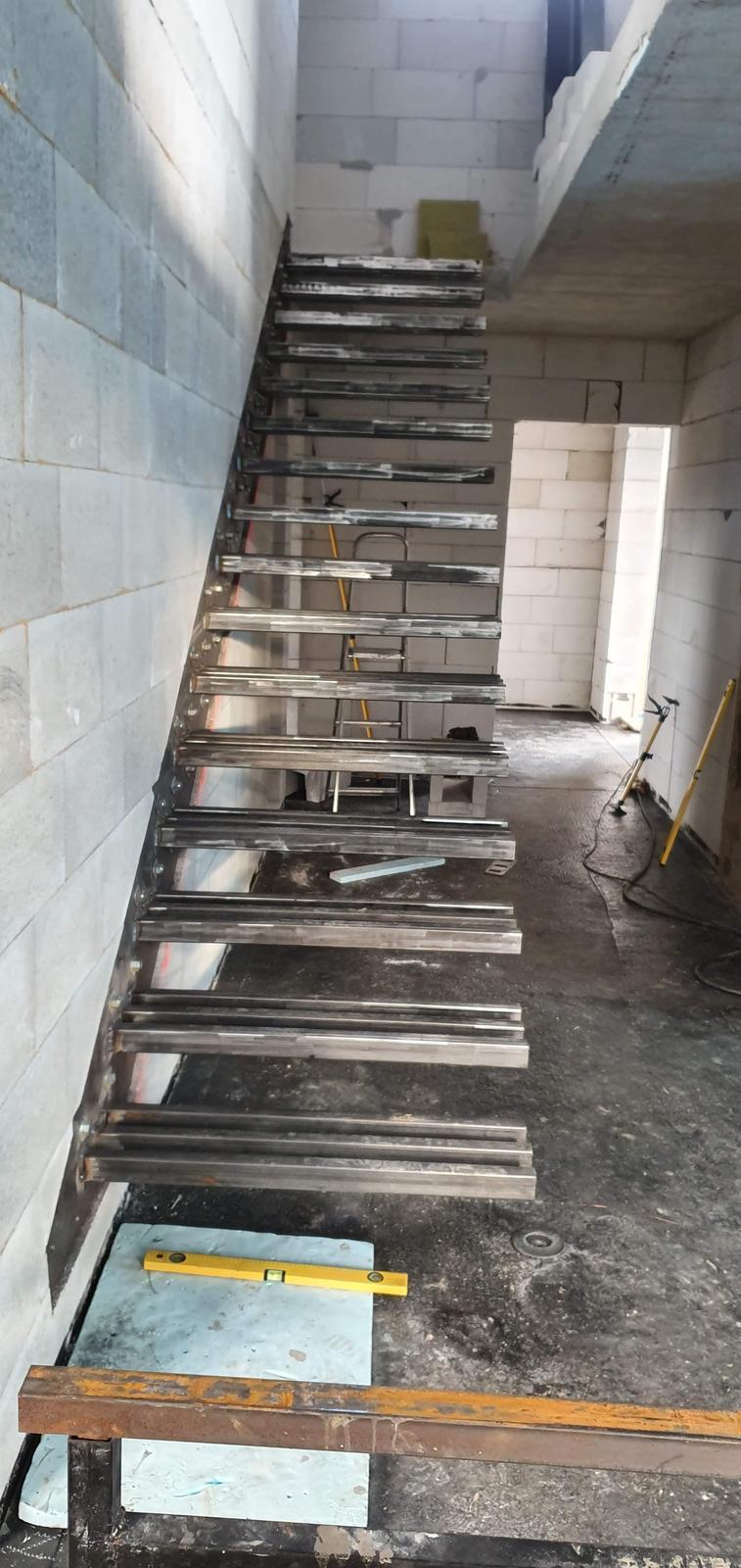 Konzolove schodisko (samonosne schody) - Obrázok č. 20