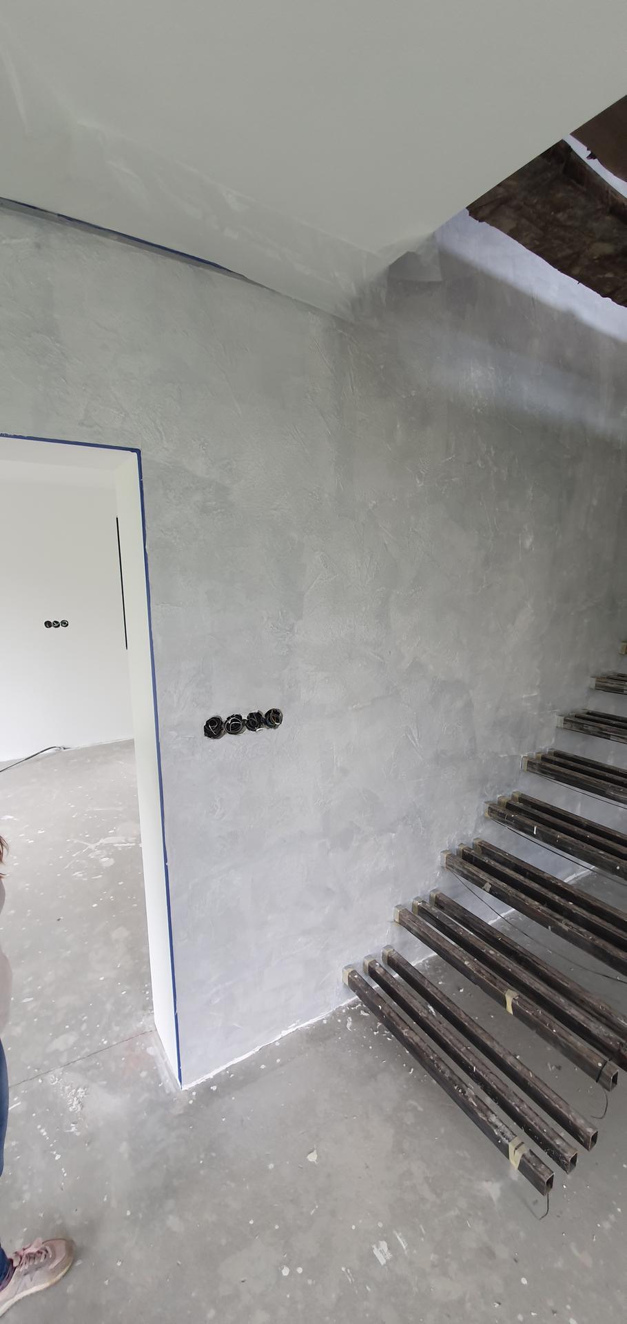 Konzolove schodisko (samonosne schody) - druhy podklad