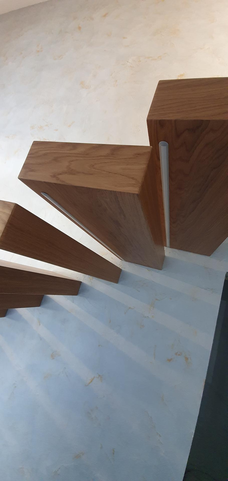 Konzolove schodisko (samonosne schody) - Obrázok č. 41
